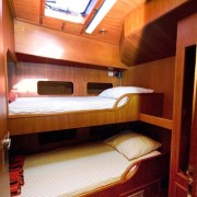 ms Jolla single cabin two beds