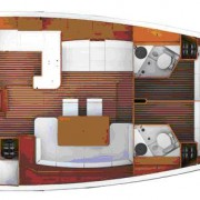 Jeanneau 53 layout 6 cbns